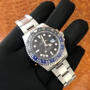 "SOLD – Men's Rolex GMT II ""Batman"""