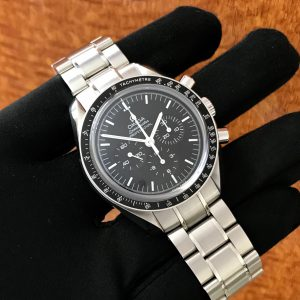 Men's Omega Speedmaster Professional Sapphire Sandwich Big Box Edition