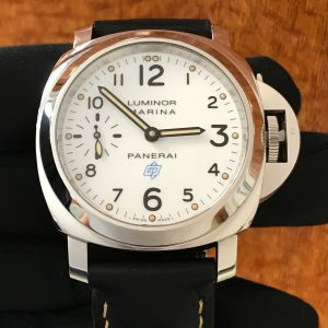SOLD – Men's Panerai Luminor Marina Logo Bianco PAM 00660