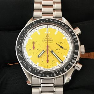 "SOLD – Men's Omega Speedmaster Reduced ""Schumacher"" Edition"