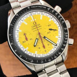 "Available – Men's Omega Speedmaster Reduced ""Schumacher"" Edition"