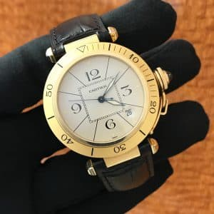 Available – Men's Cartier Pasha 18K Yellow Gold