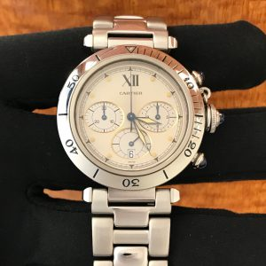 Available – Men's Cartier Pasha Chronograph